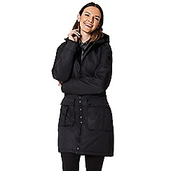 Regatta - Black 'Romina' waterproof hooded parka