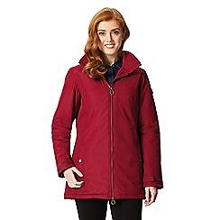 Regatta - Red 'Mylee' waterproof hooded jacket