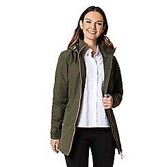 Regatta - Green 'Mylee' waterproof hooded jacket