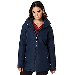 Regatta - Blue 'Mylee' waterproof hooded jacket