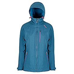 Regatta - Blue 'Louisiana' waterproof 3 in 1 jacket