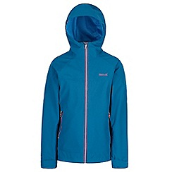 Regatta - Blue 'Went wood' 3 in 1 waterproof jacket