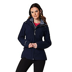 Regatta - Blue 'Calyn' 3 in 1 waterproof jacket