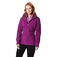 Regatta - Purple 'Calyn' 3 in 1 waterproof jacket