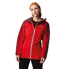 Regatta - Red 'Whitlow' waterproof stretch jacket