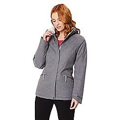 Regatta - Grey 'Highside' waterproof hooded jacket
