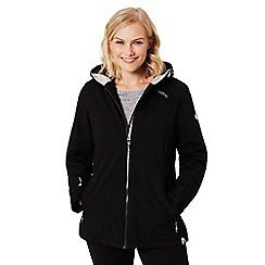 Regatta - Black 'Corvelle' waterproof hooded jacket