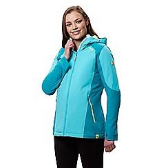 Regatta - Blue 'Corvelle' waterproof hooded jacket
