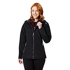 Regatta - Black 'Premilla' 3 in 1 waterproof jacket