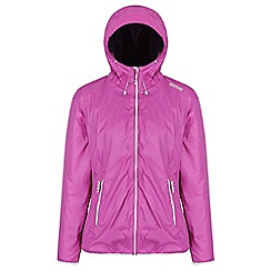 Regatta - Purple 'Tarren' waterproof hooded jacket