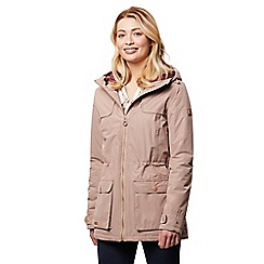 Regatta - Brown 'Bechette' waterproof hooded jacket