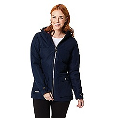 Regatta - Blue 'Bechette' waterproof hooded jacket