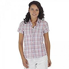 Regatta - Purple Jenna short sleeved shirt
