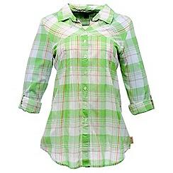Regatta - Mineral green starbright shirt