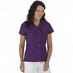 Regatta - Purple jerbra short sleeved shirt