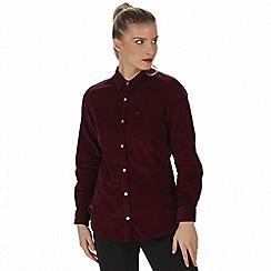 Regatta - Purple 'Maliyah' long sleeved shirt