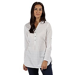 Regatta - White 'Mackayla' long sleeved shirt