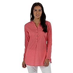 Regatta - Pink 'Mackayla' long sleeved shirt