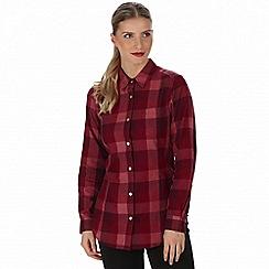 Regatta - Red 'Marcie' checked shirt