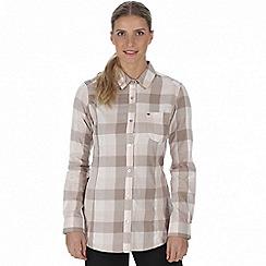 Regatta - Beige 'Marcie' checked shirt
