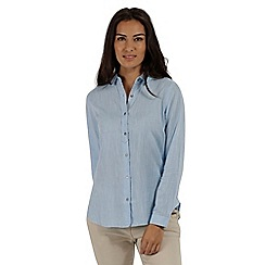 Regatta - Blue 'Meena' long sleeved shirt
