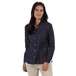 Regatta - Blue 'Meena' long sleeved shirt