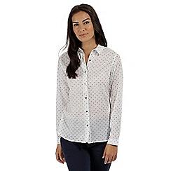Regatta - White 'Meena' long sleeved shirt
