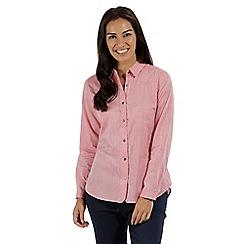 Regatta - Pink 'Meena' long sleeved shirt