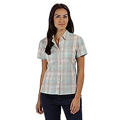 Regatta - Green 'Jenna' short sleeved shirt