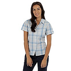 Regatta - Blue 'Jenna' short sleeved shirt