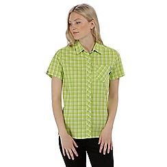 Regatta - Green 'Honshu' short sleeved shirt