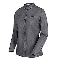 Regatta - Grey 'Farida' cotton long sleeved top