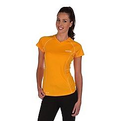 Regatta - Yellow jenolan t-shirt