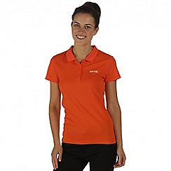Regatta - Orange Maverik polo t-shirt