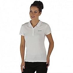 Regatta - White Maverik polo t-shirt