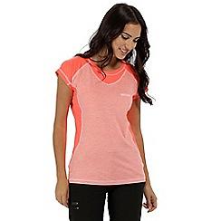 Regatta - Orange 'Breakbar' technical t-shirt