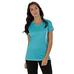Regatta - Blue 'Volito' technical t-shirt