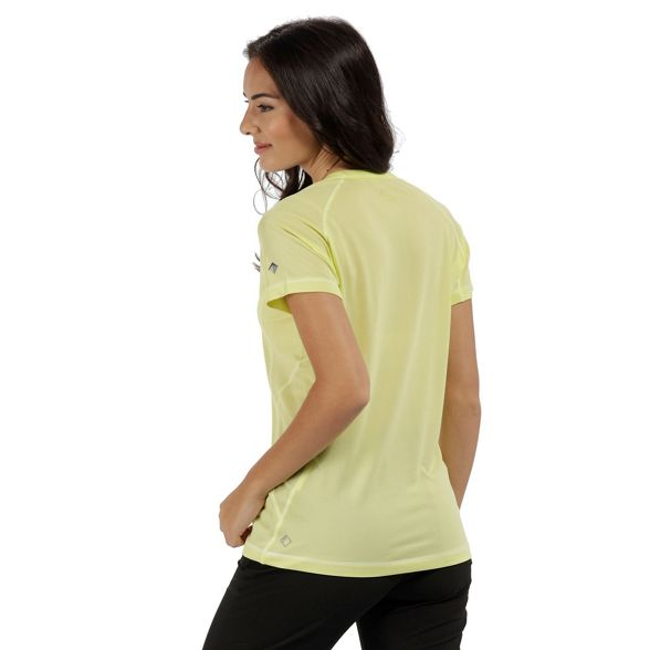 Yellow t Regatta technical shirt 'Volito' Fddpnxq