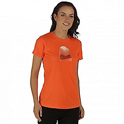 Regatta - Orange Fingal t-shirt