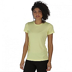 Regatta - Yellow Fingal t-shirt