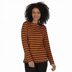 Regatta - Yellow 'Fayola' t-shirt