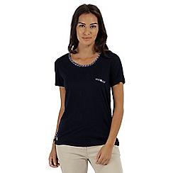 Regatta - Blue 'Alaina' jersey top