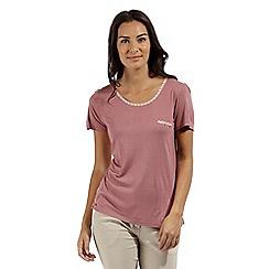 Regatta - Pink 'Alaina' jersey top
