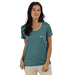 Regatta - Green 'Alaina' jersey top
