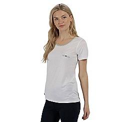 Regatta - White 'Alaina' jersey top