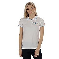 Regatta - Cream 'Fawna' polo shirt