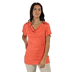 Regatta - Orange 'Francheska' jersey top