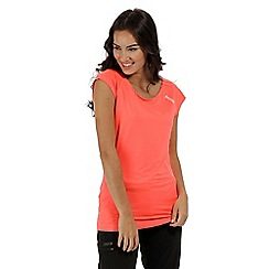 Regatta - Orange 'Limonite' short sleeved top