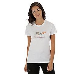 Regatta - White 'Fingal' print t-shirt