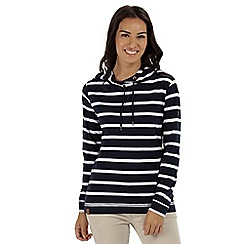 Regatta - Blue 'Modesta' striped jersey top